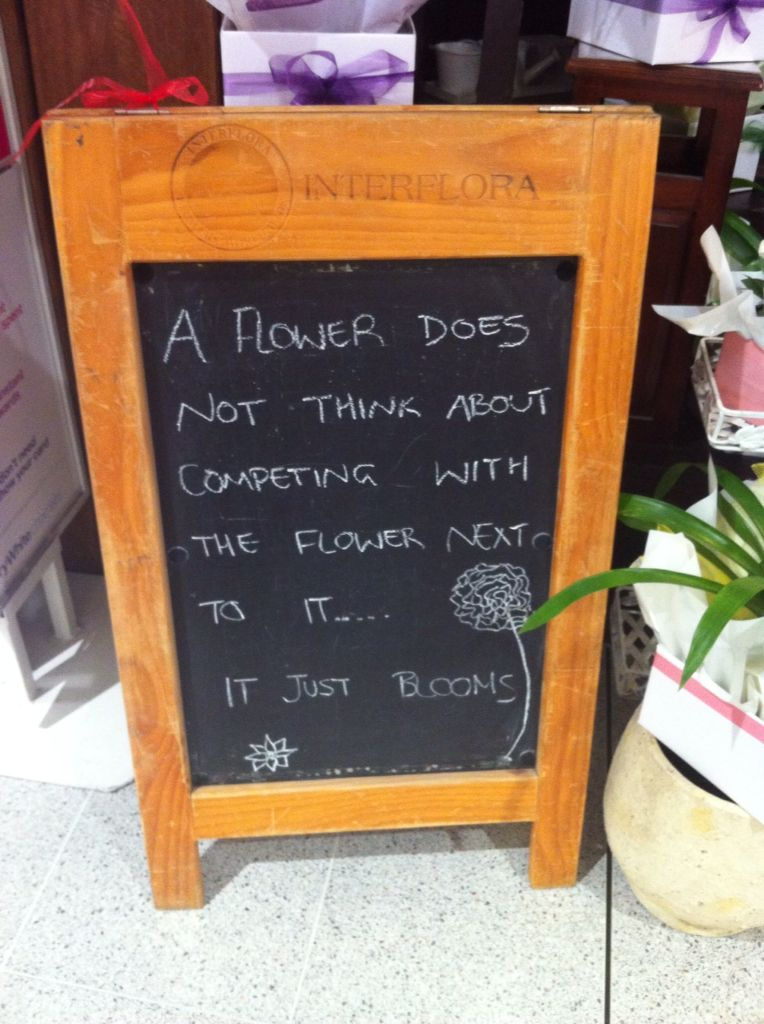Found this saying at a florist...loved it! Flower shop