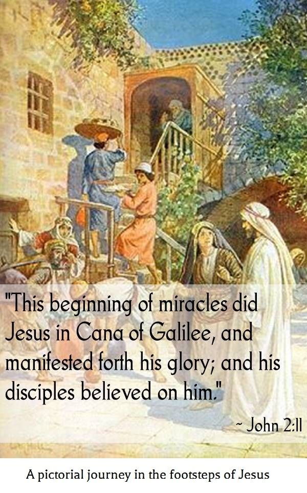 The Wedding At Cana A 1906 Watercolor Painting By William Brassey Hole A Pictorial Journey In The Footsteps Of Jesus Free Ebook