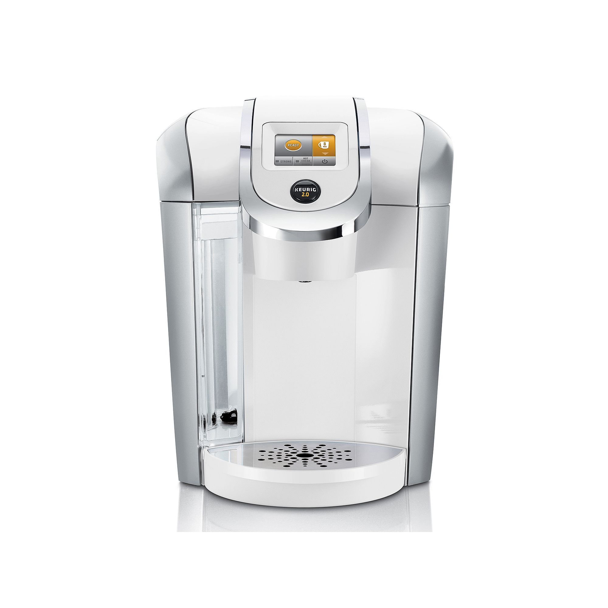 Keurig® 2.0 K450 White Coffee Brewing System Keurig