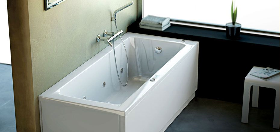 Ideal Standard Vasca idromassaggio Connect pannellabile ...