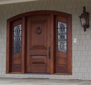 3 panel entry door for large openings