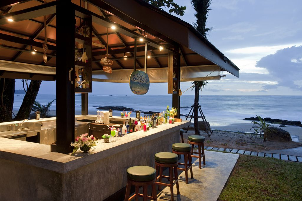 Photo Of The Day Beach Bar At Merlin Resort Et Thailand
