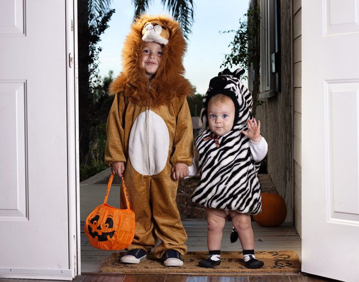 Pin for Later: There Is Legitimately Nothing Cuter Than These 35 Babies in Halloween Costumes Safari Siblings