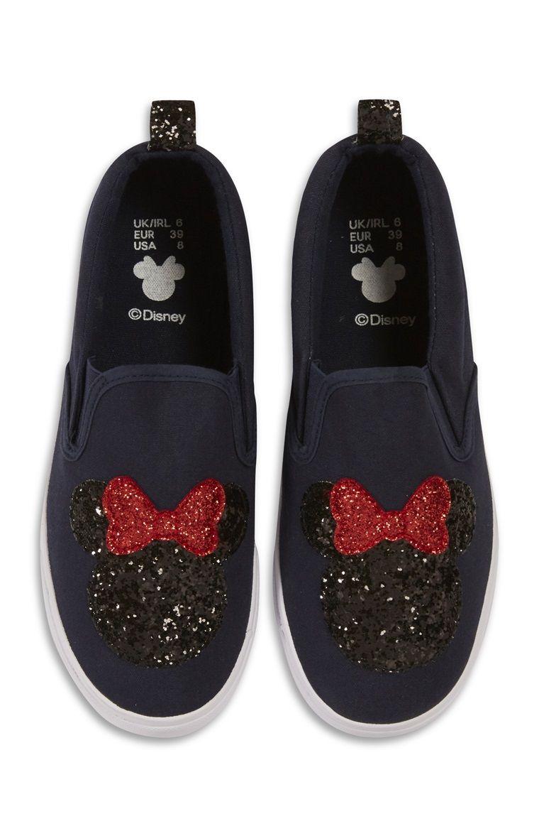 Minnie mouse shoes, Slip on pumps