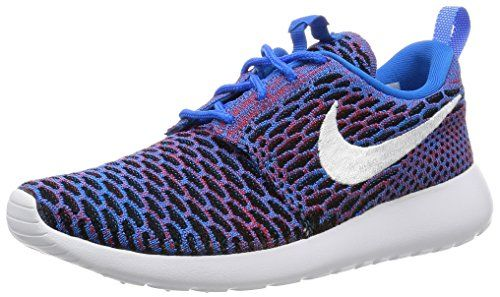 1ac593757648 Nike Women Roshe One Flyknit Shoe photo blue whiteuniversity redblack Size  7 US   To view further for this item