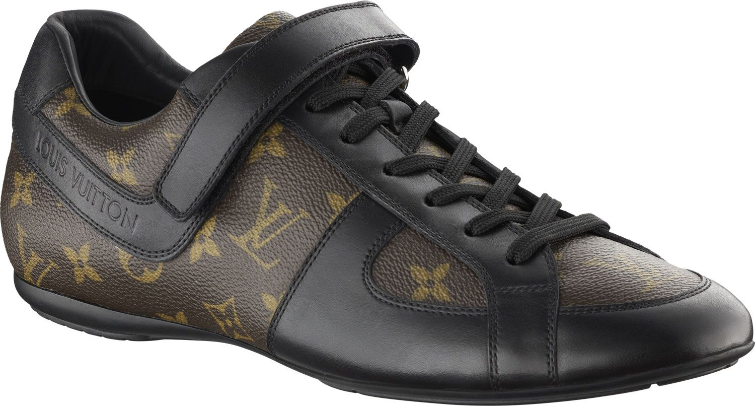 quite nice 8d4b8 6408a Louis Vuitton Mens Globe-Trotter sneaker in Monogram ...