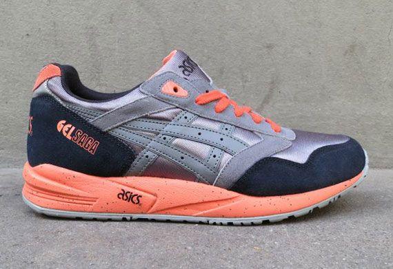 Asics Gel Saga - Grey - Black - Orange - SneakerNews.com  68e09f62d