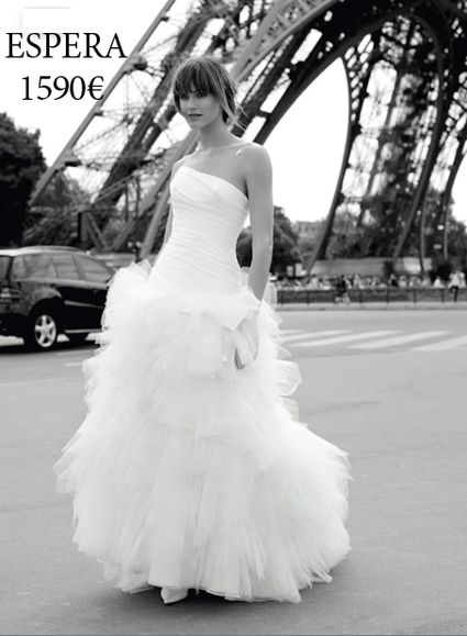 fca0261071377 Robe de mariée Cymbeline Espera + jupon | * Dress * | Robe de mariée ...