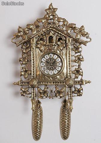 Reloj de pared lujo abricado en bronce  antiques  Pinterest