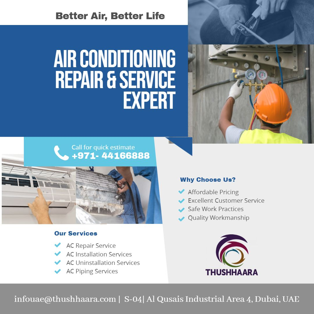 Get reliable Air conditioner Repair, Service, Sales and