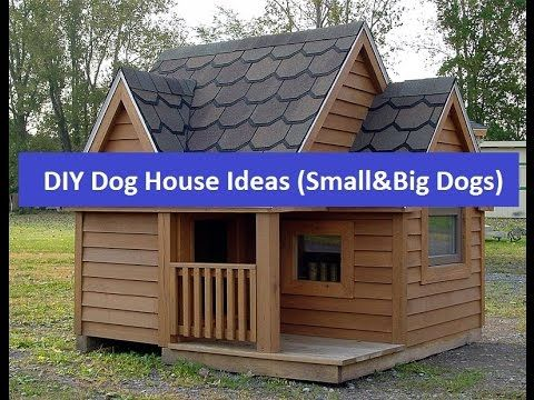 Cheap DIY Dog House Ideas for Small and Big Dogs