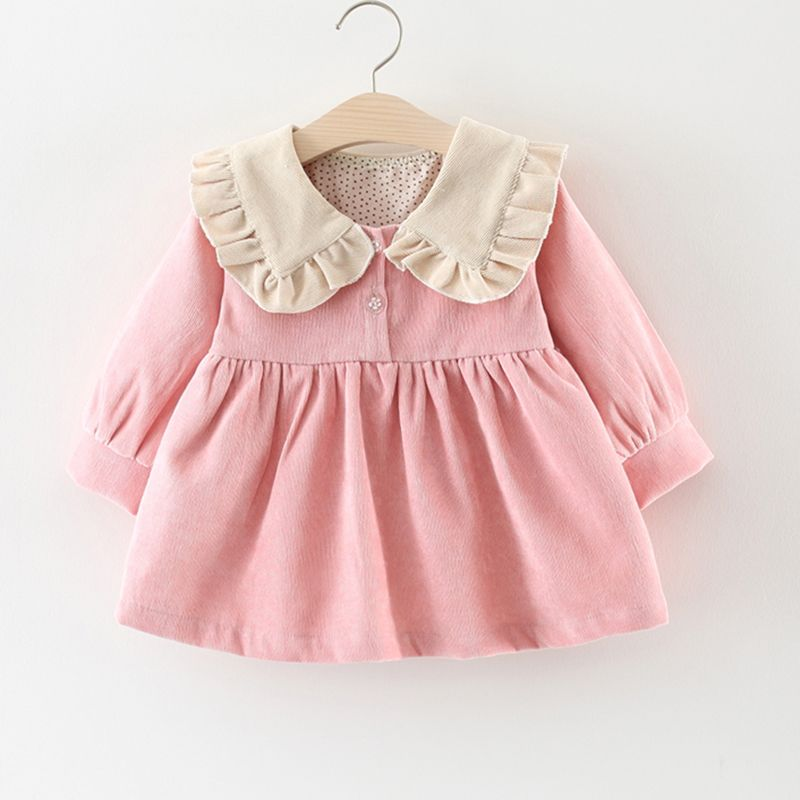 Baby Dress Corduroy Dress For Baby Girl Clothes 1 Year Girl Baby