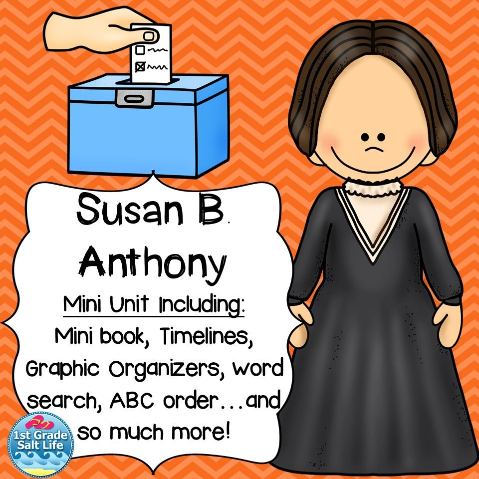 Workbooks susan b anthony worksheets : Susan B. Anthony | Social studies, Homeschool and Elementary science