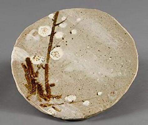 Arakawa-Toyozo-cerámica-placa