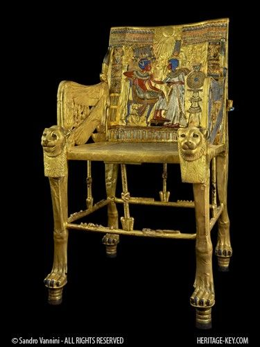 The Curse Of King Tuts Tomb Torrent: King Tut's Throne. Seen It At The Smithsonian When I Was A