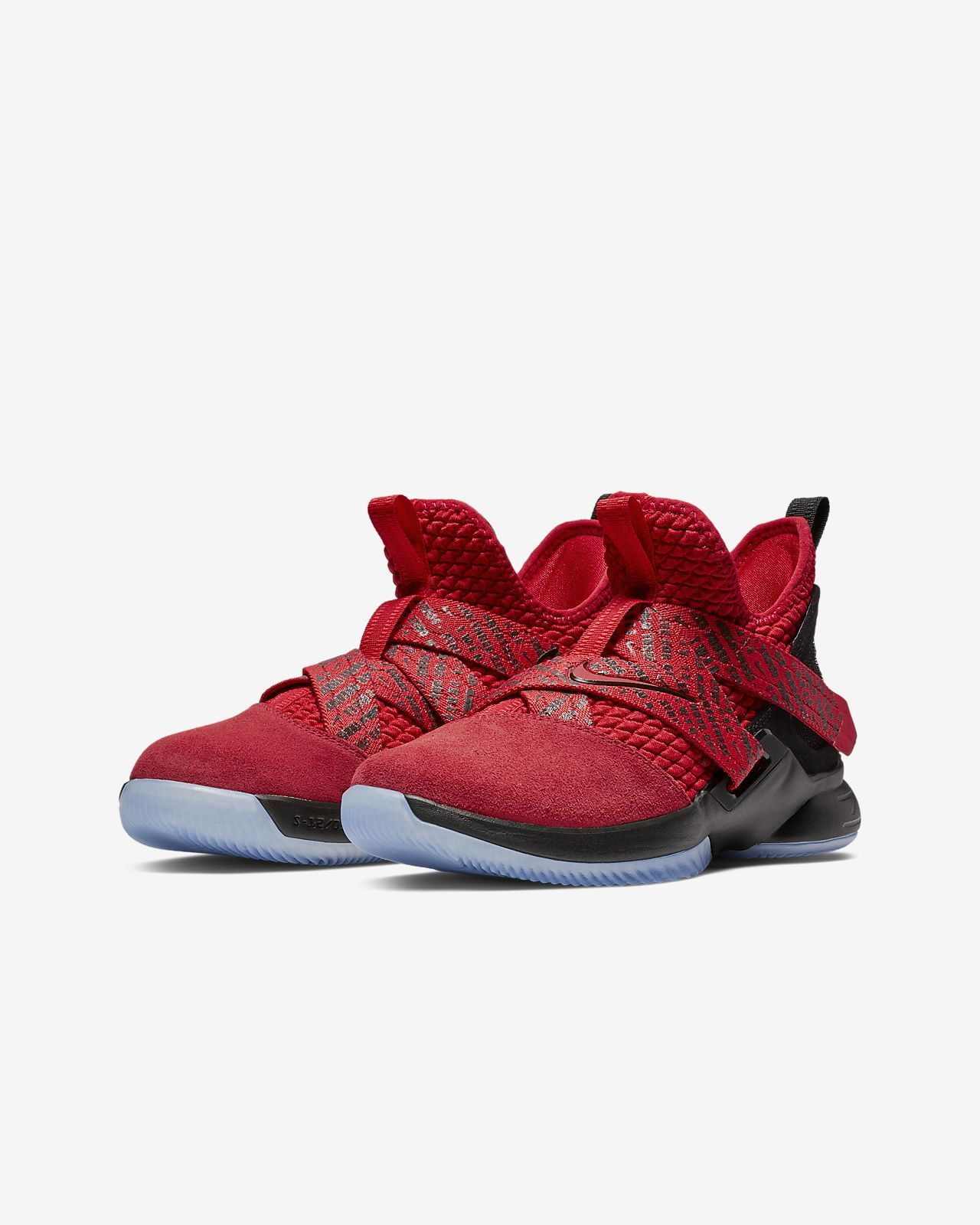 a4045808eae3 LeBron Soldier XII Big Kids  Basketball Shoe in 2019