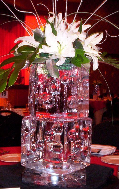 Unglaublich Einzigartige Eis Skulptur Hochzeit Dekoration Ideen