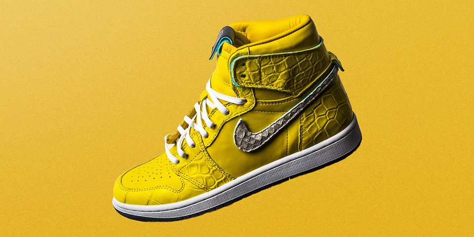 The Shoe Surgeon Debuts Lavish Air Jordan 1 Canary With Images