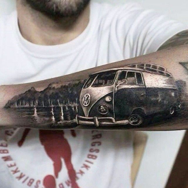 kombi tattoo tattoo pinterest tattoo vw and tattoo. Black Bedroom Furniture Sets. Home Design Ideas