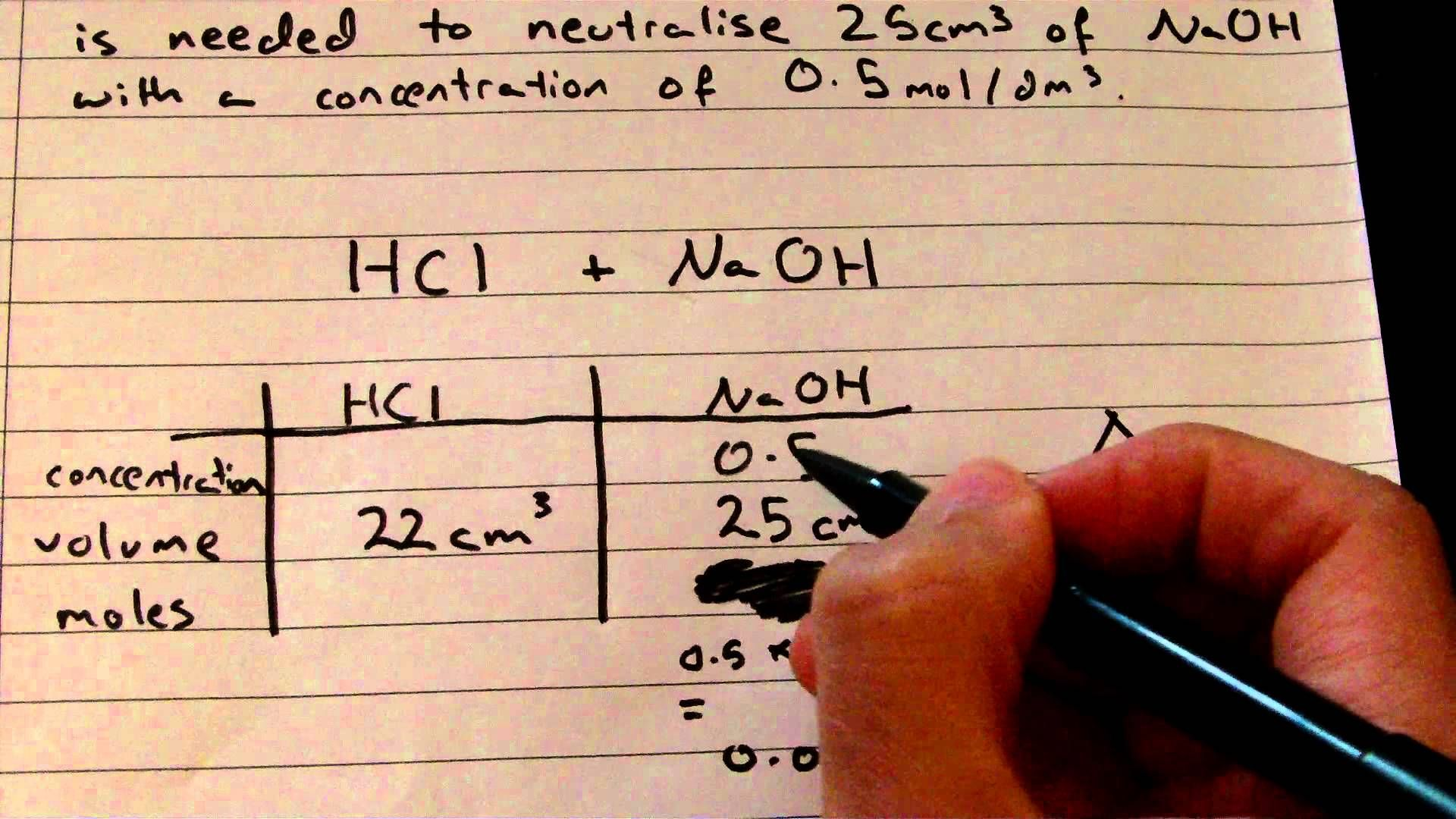 Gcse Chemistry Titration Calculations Made Easy