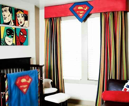 Pin By Samantha On Home Decor Superman Bedroom Decor Superhero Room Superhero Room Decor