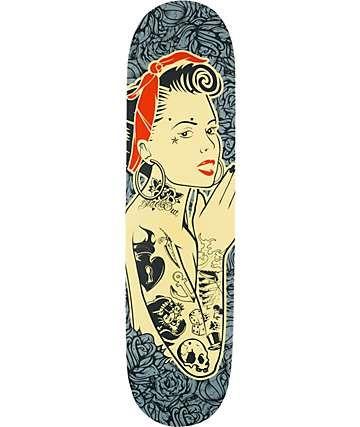 "Blackout Always Girl 8.25""  Skateboard Deck"