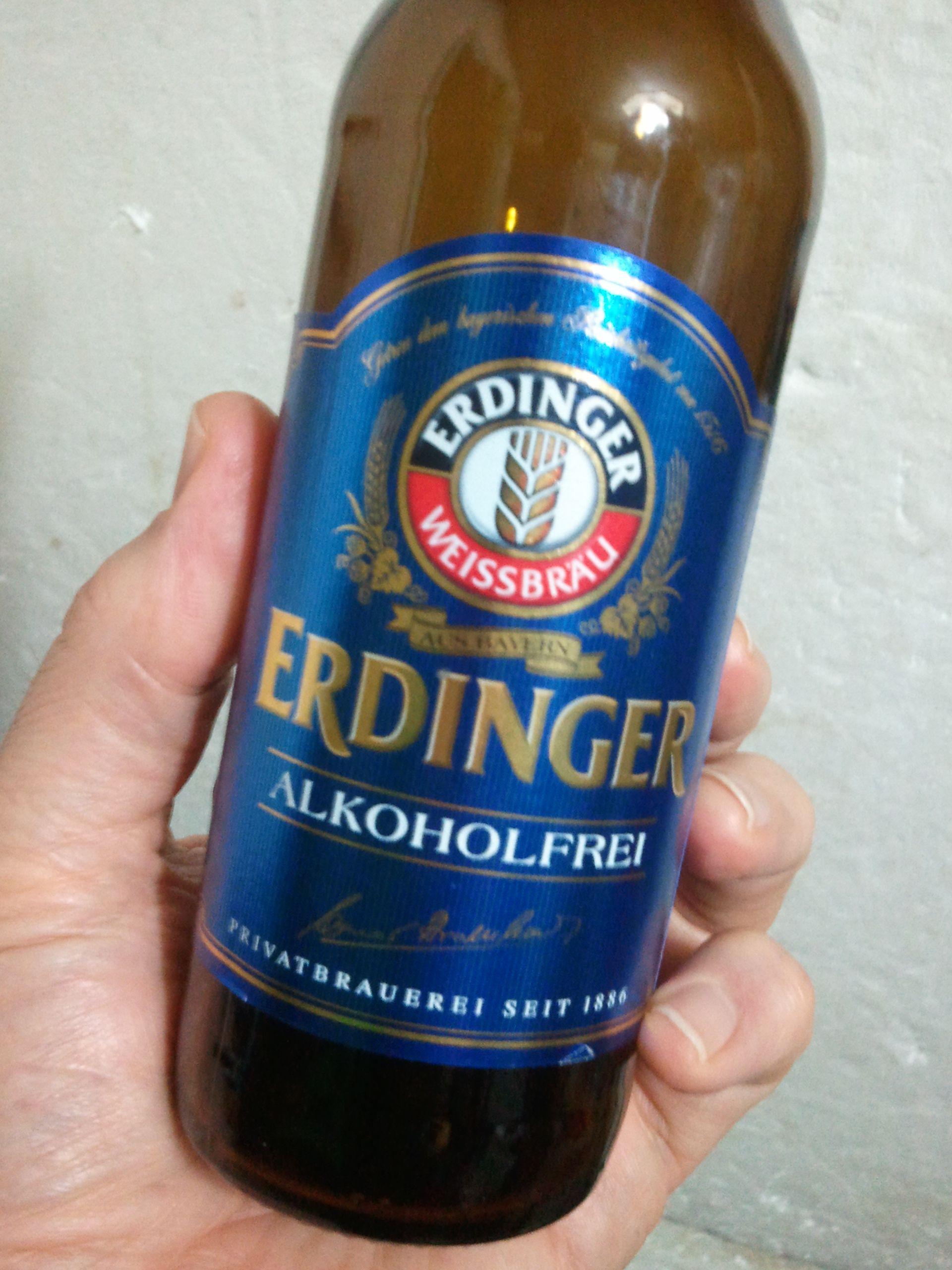 Erdinger non-alcoholic beer - Bitburger non-alcoholic beer ...