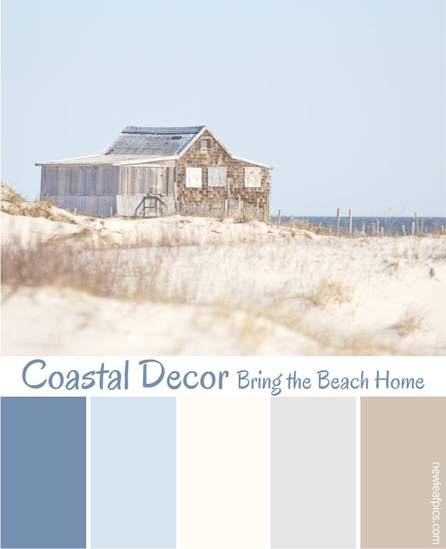 Coastal Decorating Is One Of This Years Hottest Design Trends Get Inspired And Bring The Beach H Beach House Colors Beach House Interior Beach Color Palettes