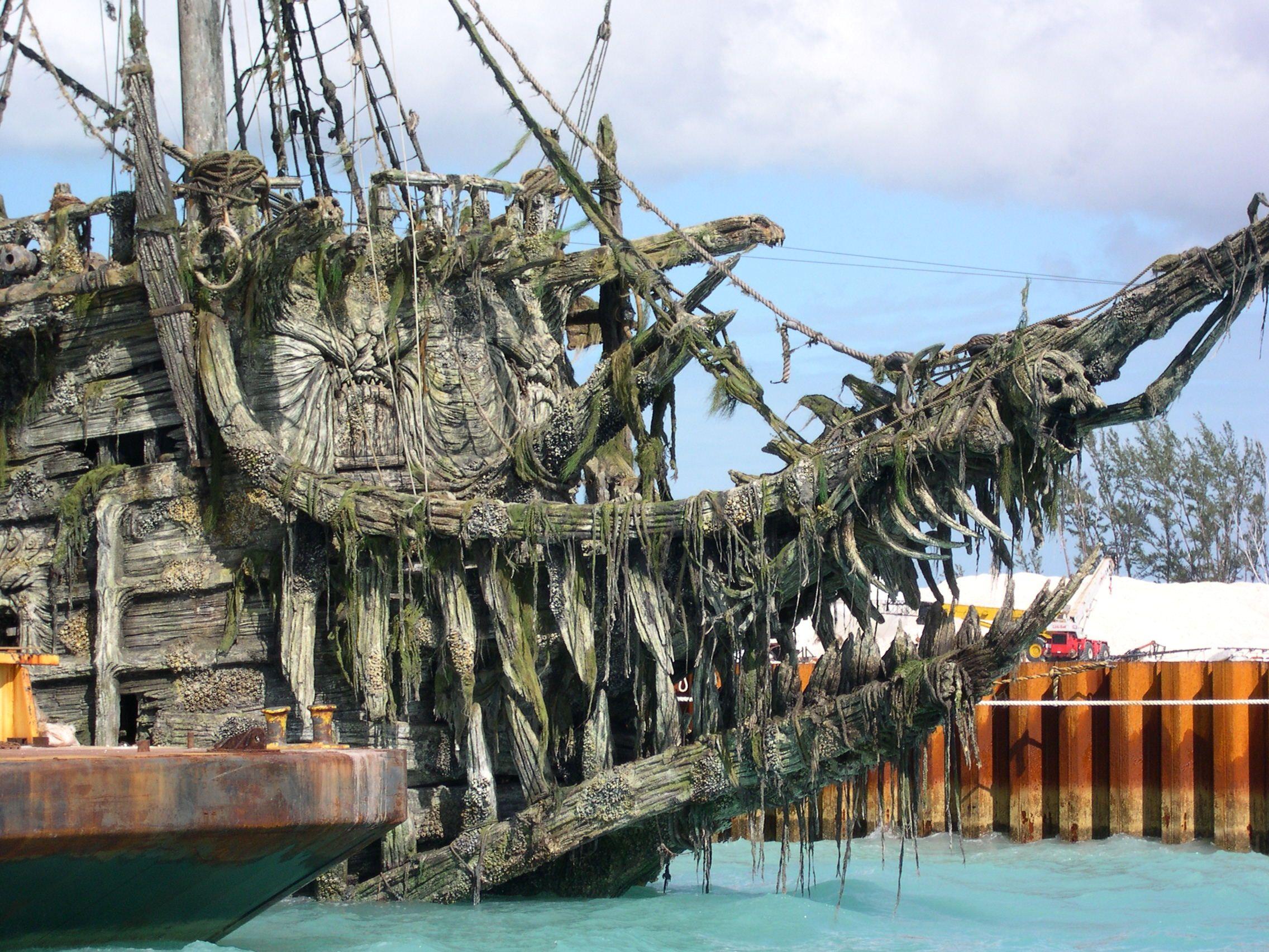 """Легендарен кораб от """"Карибски пирати"""" наистина съществува"""