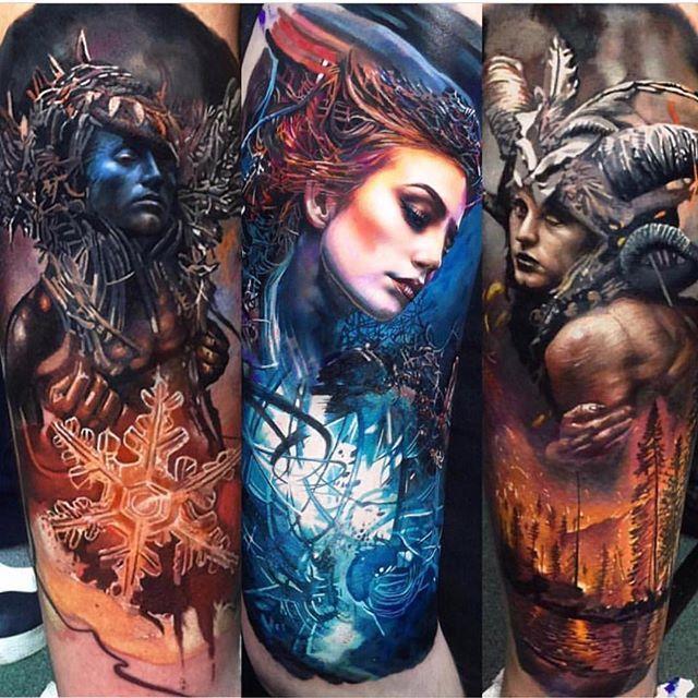 Silo Tattoos Incredible Body Art Masterpieces That Look: Incredible Tattoos, Cool Tattoos, Art