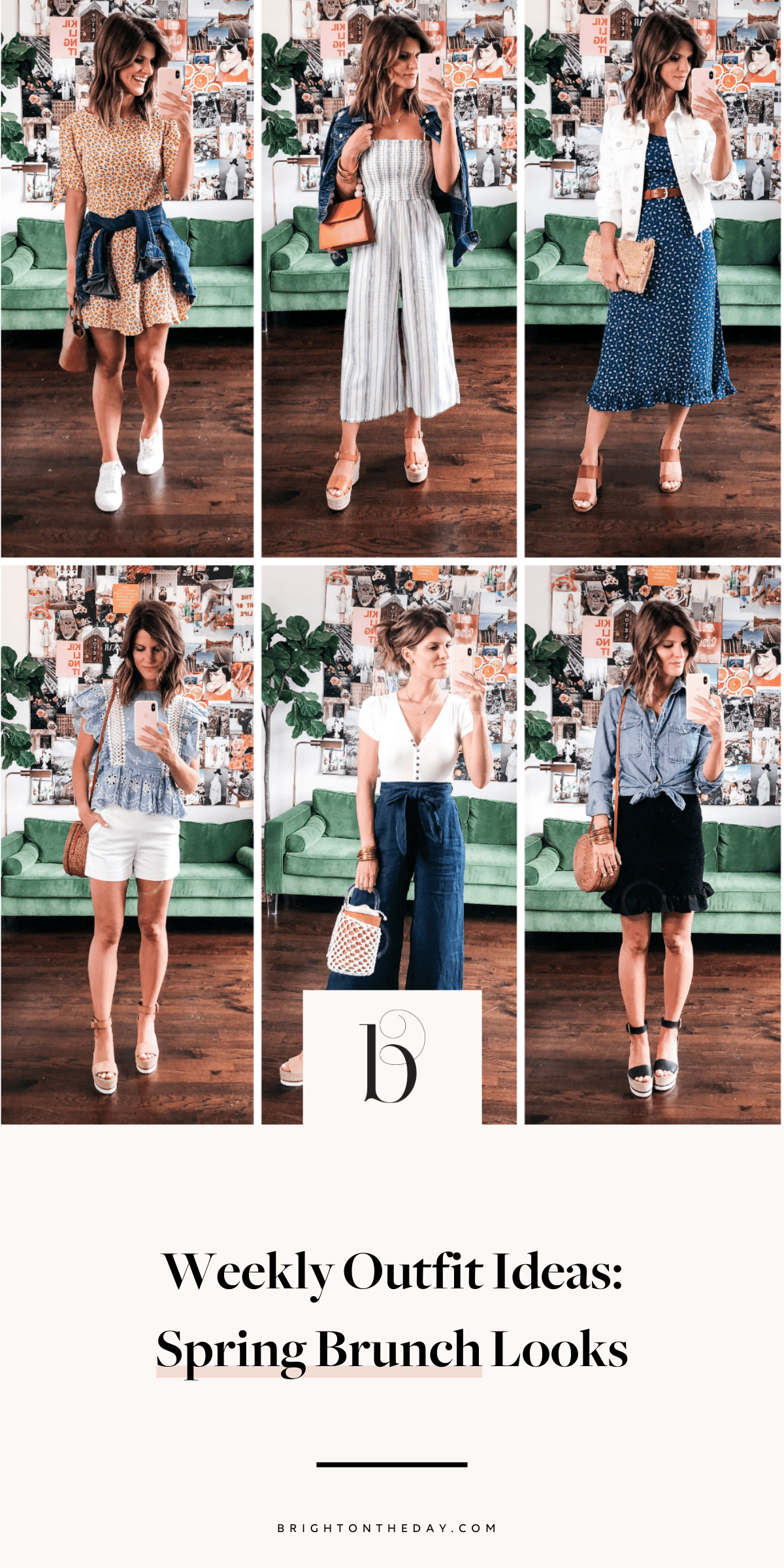 fae38a6955 Weekend Brunch Looks | Spring Outfit Ideas | Summer outfits, Style ...