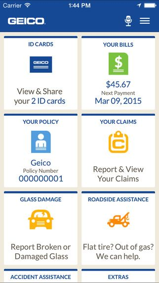 Geico Mobile By Geico Saving App App Mobile App