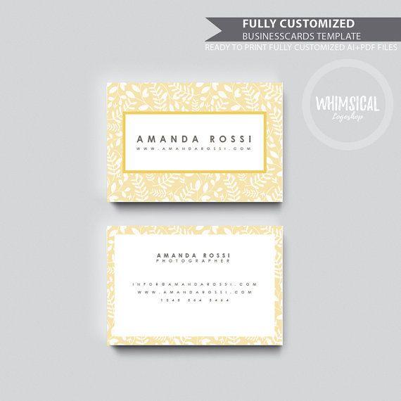 Nature Template 1 Card Design, Creative Business Card Template - business invitation template