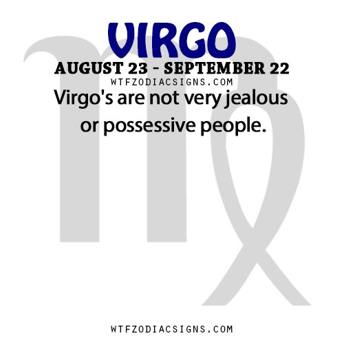 Do virgo women get jealous