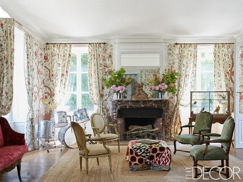 French Country Style Interiors - Rooms with French Country ... french country decor style living