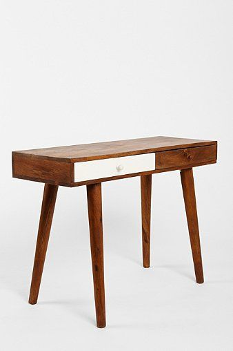 Assembly Home Contrast Drawer #Desk - Urban Outfitters #midcentury #midcenturymodern