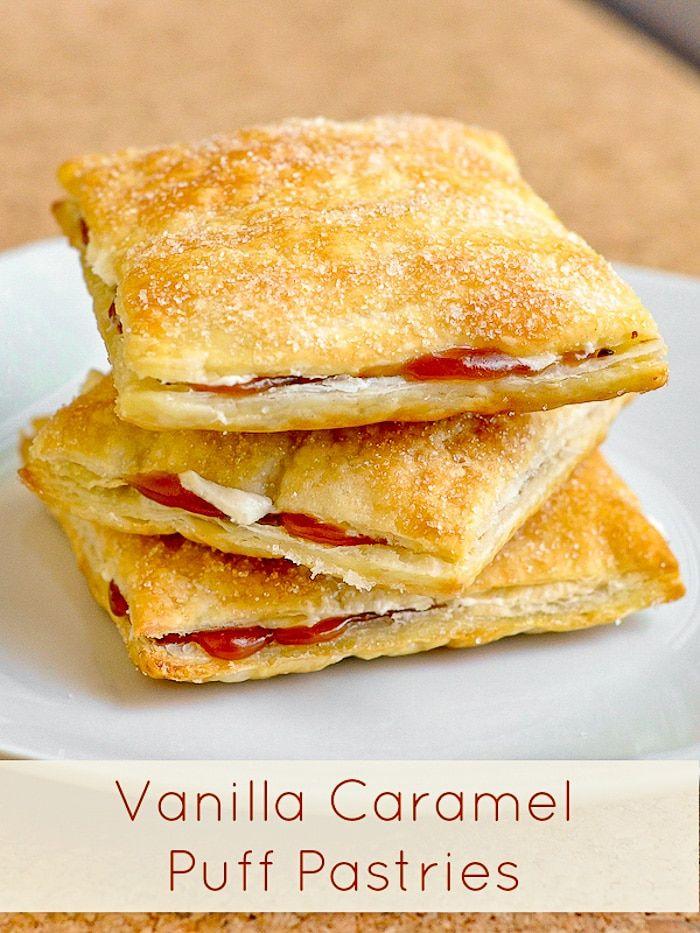 Vanilla Caramel Pastries a.k.a. Caramel Flakies. A Canadian favourite!