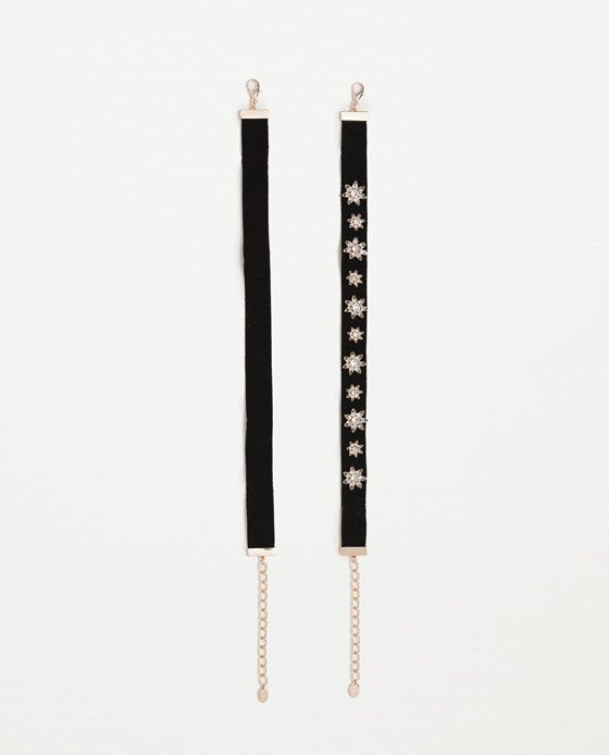 Image 1 of 2-PACK OF CHOKERS from Zara