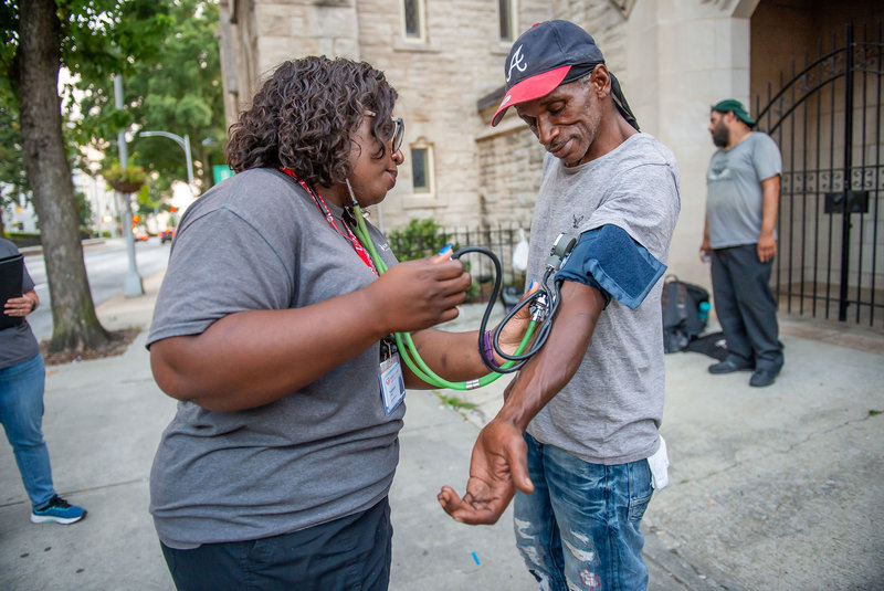 They Bring Medical Care To The Homeless And Build