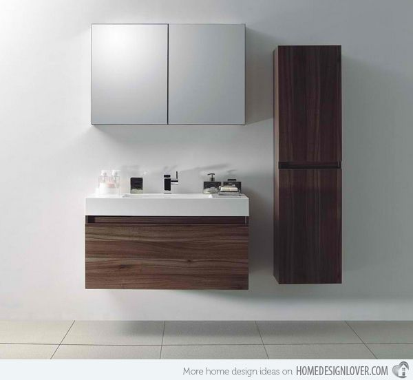 15 Modern And Contemporary Tall Cabinets Ideas Home Design Lover Modern Bathroom Vanity Bathroom Vanity Designs Modern Bathroom