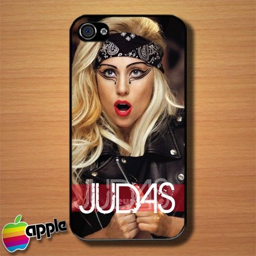 Lady Gaga Judas Stills Custom iPhone 4 or 4S Case Cover #iphone4 #Case #cover #LadyGaga