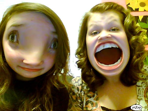 #piZap by:KaylaForstie  funny faces