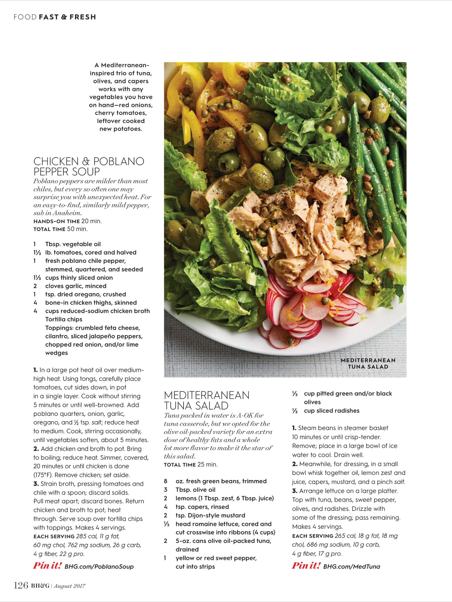 Fast Fresh From Better Homes And Gardens August 2017 Read It On The Texture App Unlimited Access To 200 Top Mag Stuffed Pepper Soup Stuffed Peppers Food