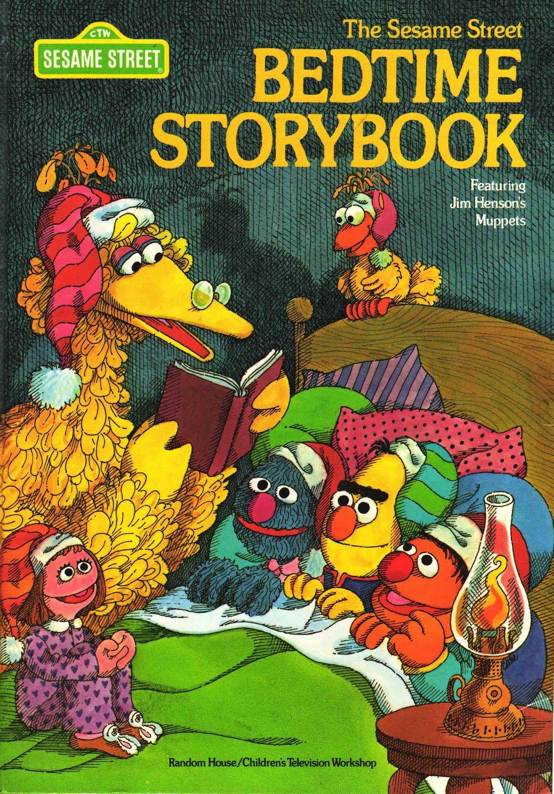 The Sesame Street Bedtime Storybook Sesame Street Books Sesame Street Muppets