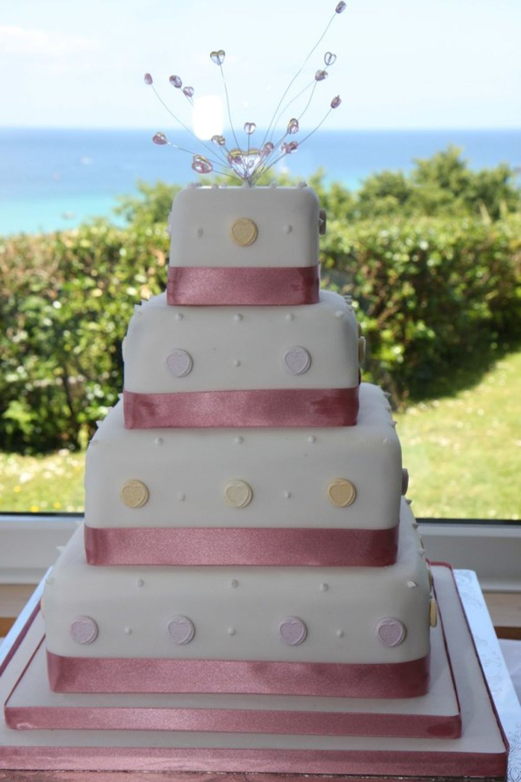 Pictures of my homemade wedding cake photo gallery