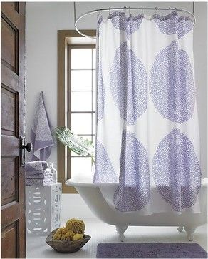 Marimekko Pippurikera Wisteria Shower Curtain   Contemporary   Shower  Curtains   Crate