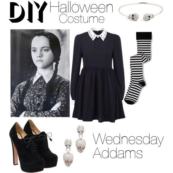 spooky season is back halloween costume ideas - Halloween Costumes Wednesday Addams