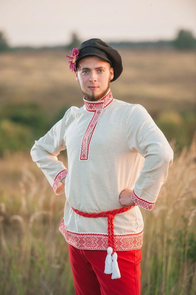 Фото русского национального костюма