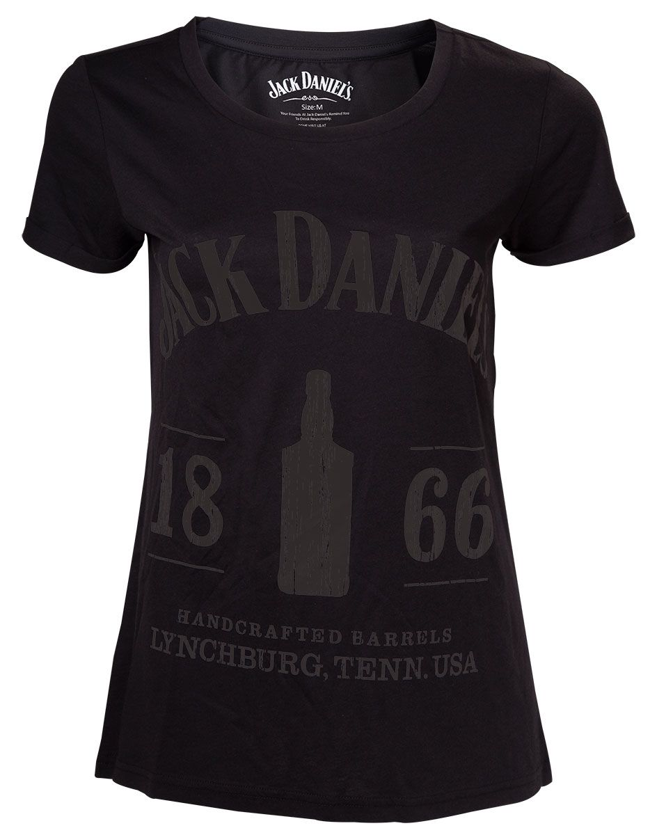 TShirt Dam Jack Daniels - 1866