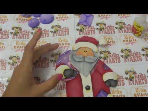 Krika.Com - Guirlanda de Natal (Aula 6) - YouTube